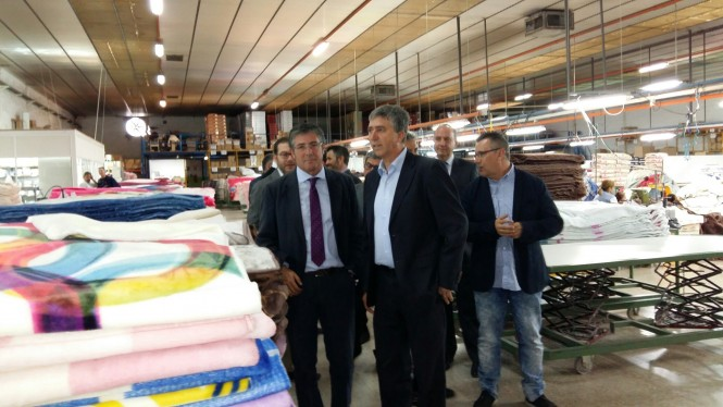 006 visita Rafa Climent Textils Mora A